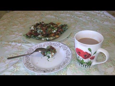 Сырники с зеленью // Cheesecakes with greens