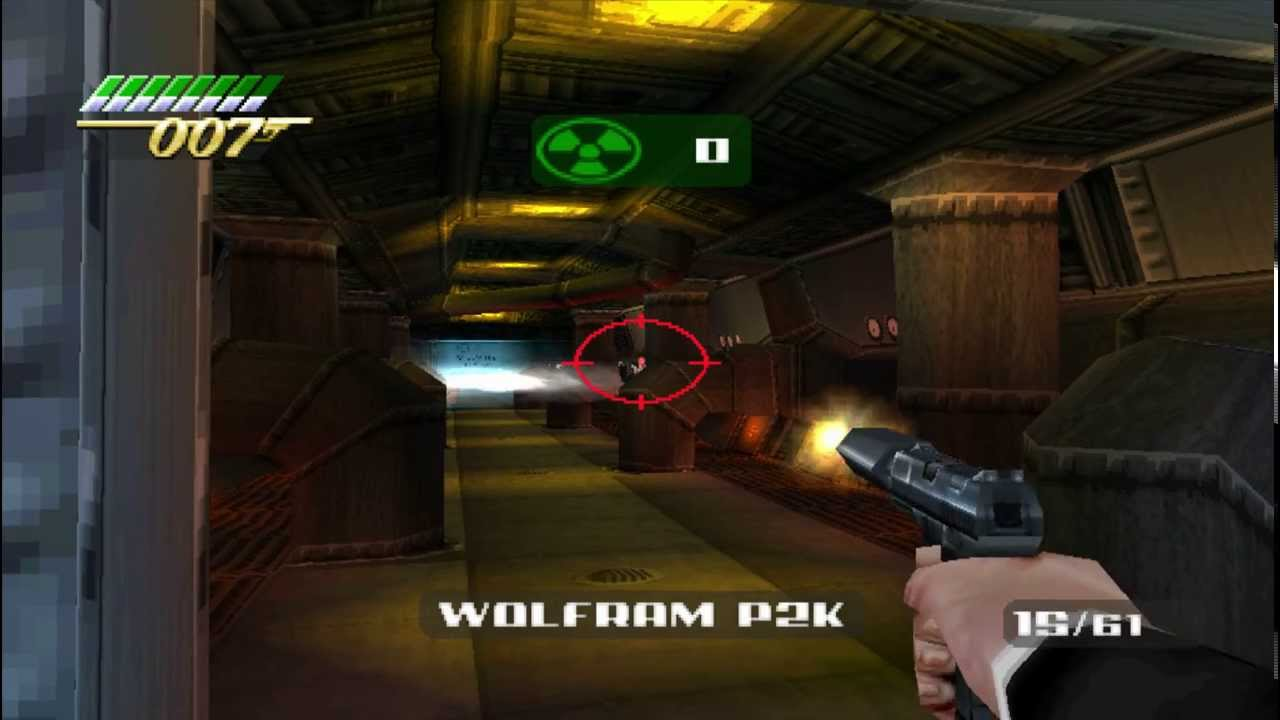 The World Is Not Enough 007 PS1-detonado/gameplay!