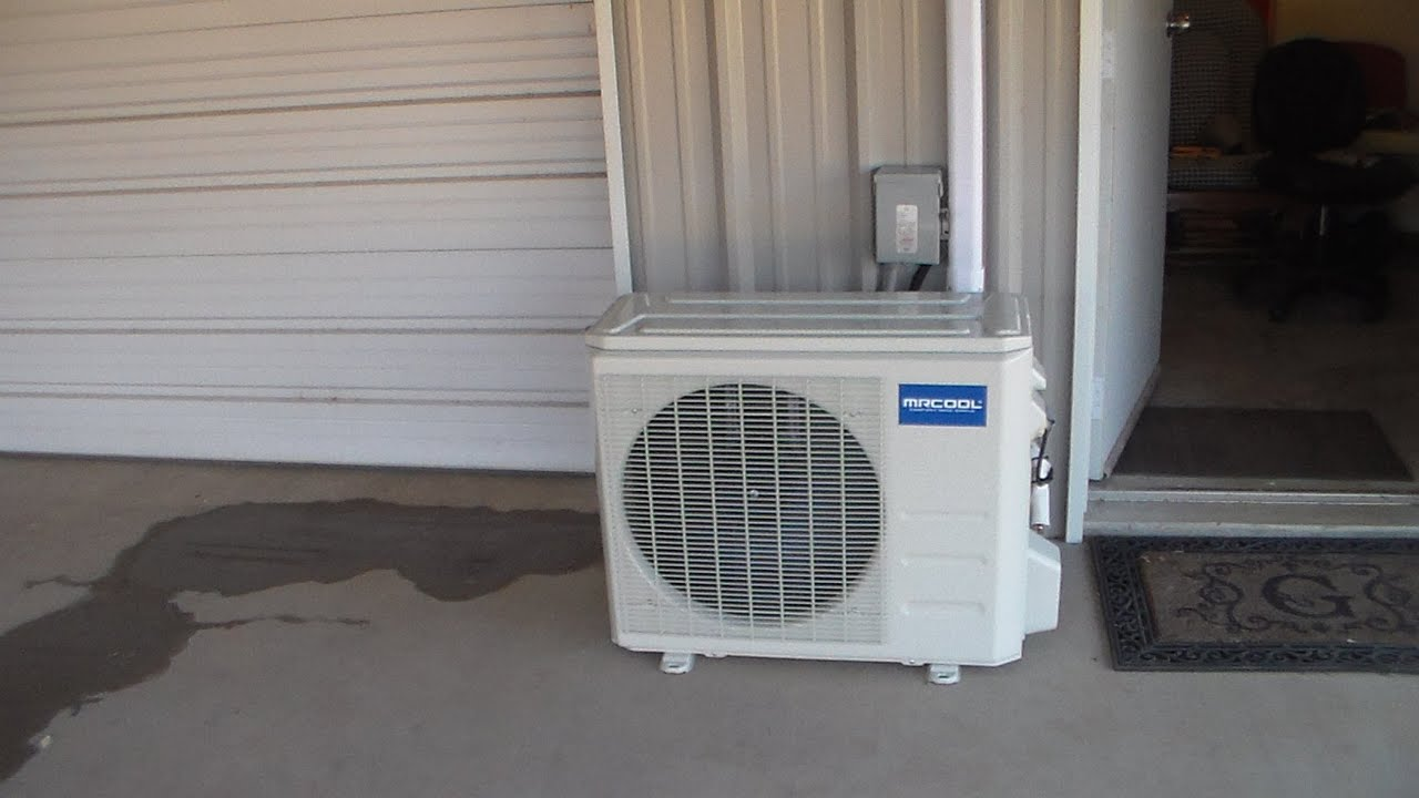 split system air conditioner wiring diagram craftsman 1 2 hp garage door opener how to install a ductless mini youtube