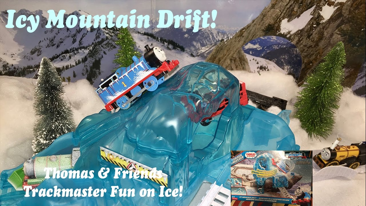 Fisher-Price Thomas /& Friends Track Master Icy Mountain Drift Train Set NEW!