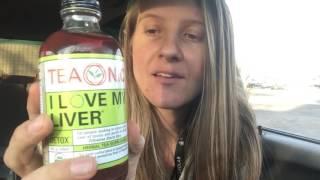 I love My Liver - Organic Detox Tea - TeaOnic