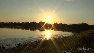 Медитация. Релакс. Багряный закат. Солнце садится. Музыка. Природа. Йога. Сон