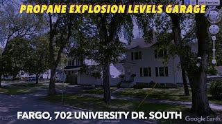 Propane Explosion Levels Fargo Garage