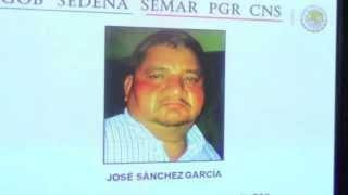 """Federales detienen a """"El Gordo cachetes"""" Jefe regional del CDG en Matamoros"""