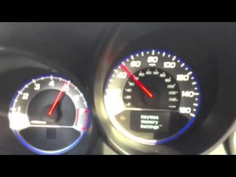 0-60 MPH in Acura TL
