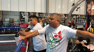 Robert Garcia on team Mexico win Spence and canelo ggg