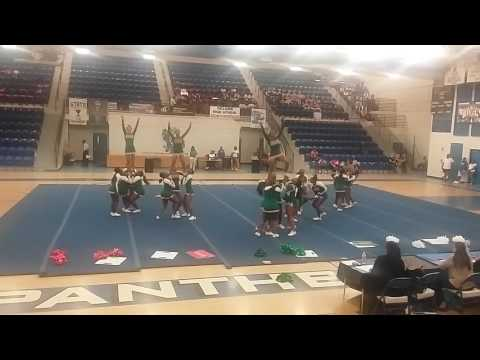 Blanche Ely High School Cheerleaders @2016 Competition at Dillard