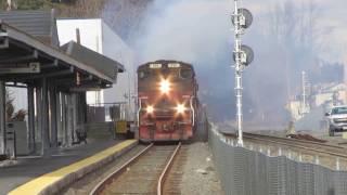 MEC 510 (GP40-2LW) Smokes Up Wilmington