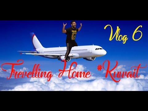 Travelling Home! #Kuwait Vlog 6