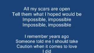 Samuel Garcia - Impossible (Shontelle)