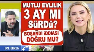 Ece Erken eşi Şafak Mahmutyazıcıoğlu'ndan boşandı mı? Ece soyadını neden değişti