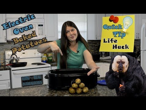 How To Cook Potatoes In An Electric Roaster Life Hack Tip #15