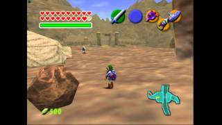 The Legend of Zelda - Ocarina of Time - Legend of Zelda, The - Ocarina of Time (N64) - Gerudo Valley Song - User video