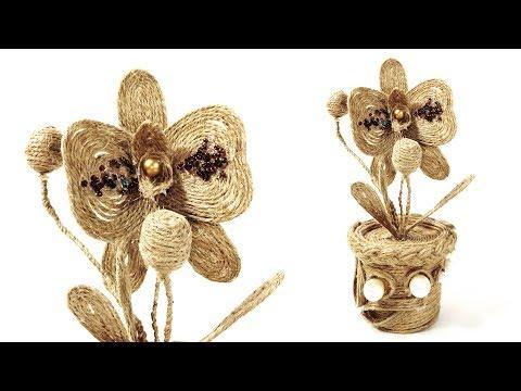 DIY Paper Cup Flower Pot   Jute Craft Ideas   Crafts Junction