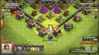 Th9 Farming Base with Replays!!!#Clash of Clans