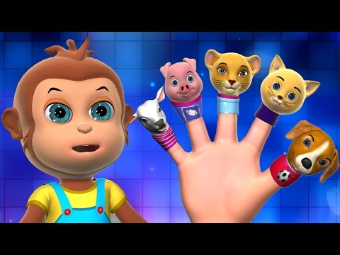 Daddy Finger  Finger Family Song  3D Finger Family Nursery Rhymes & Songs for Children