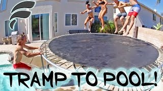 WHAT WE DO OVER SUMMER (TRAMPOLINE TO POOL)