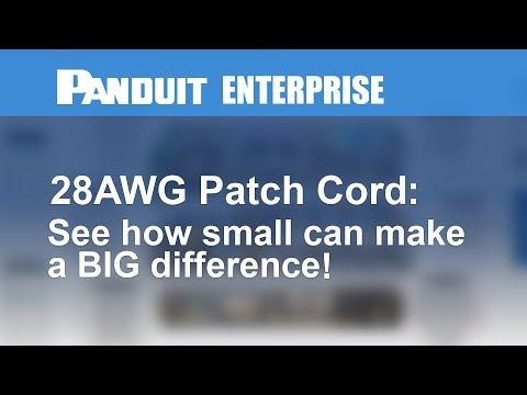 Panduit UTP28SP10BU Copper Patch Cord