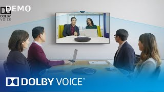 Dolby Voice Room: Conferencing Technology With The Intelligence To Flex | Demo | Dolby Voice | Dolby