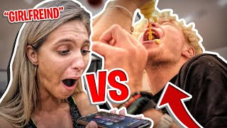Double Dare Game Of HORSE vs My Girlfriend!