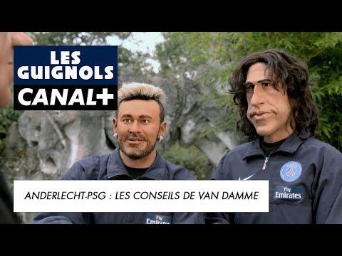 Ligue des Champions : les conseils de Jean-Claude Van Damme pour le PSG - Les Guignols