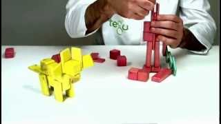 Wooden Toys From Tegu - Building A Lion Tamer