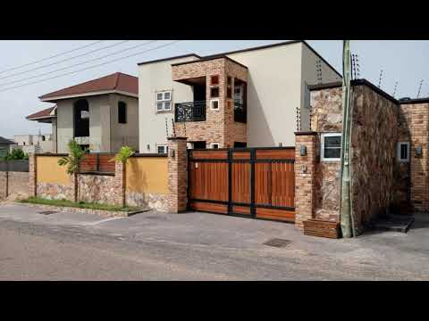 4 bedroom with Fitted solar panel systems for sale at Adjiriganor,Accra.Call us on 0545079280.