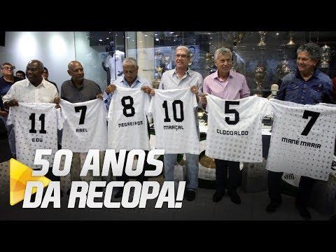 ÍDOLOS SÃO HOMENAGEADOS PELOS 50 ANOS DA RECOPA MUNDIAL