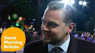 Leonardo DiCaprio And Tom Hardy On Their Oscar Nominations | Good Morning Britain