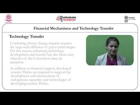 Financial Mechanisms and Technology Transfer (Law)