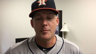HOU@TEX: Hinch on players stepping up to help Astros