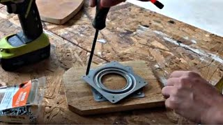 How to Make a Lazy Susan Turntable OR DIY Lazy Susan Install Hardware
