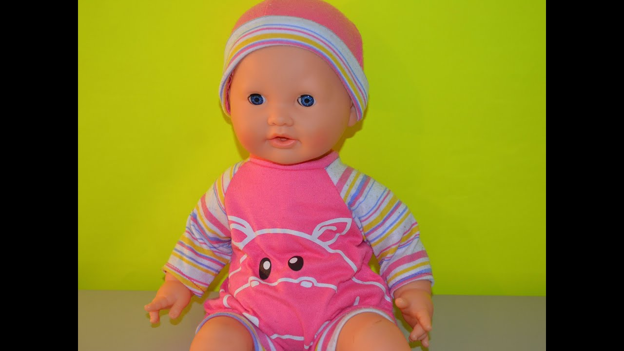 fd8a8adf27d71 My Cute Talking Baby Doll (Baby Doll That looks Real)- How to dress up and  play with baby dolls