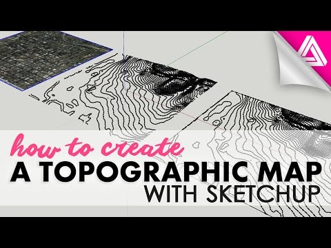 How to Create A Topographic Map with Sketchup