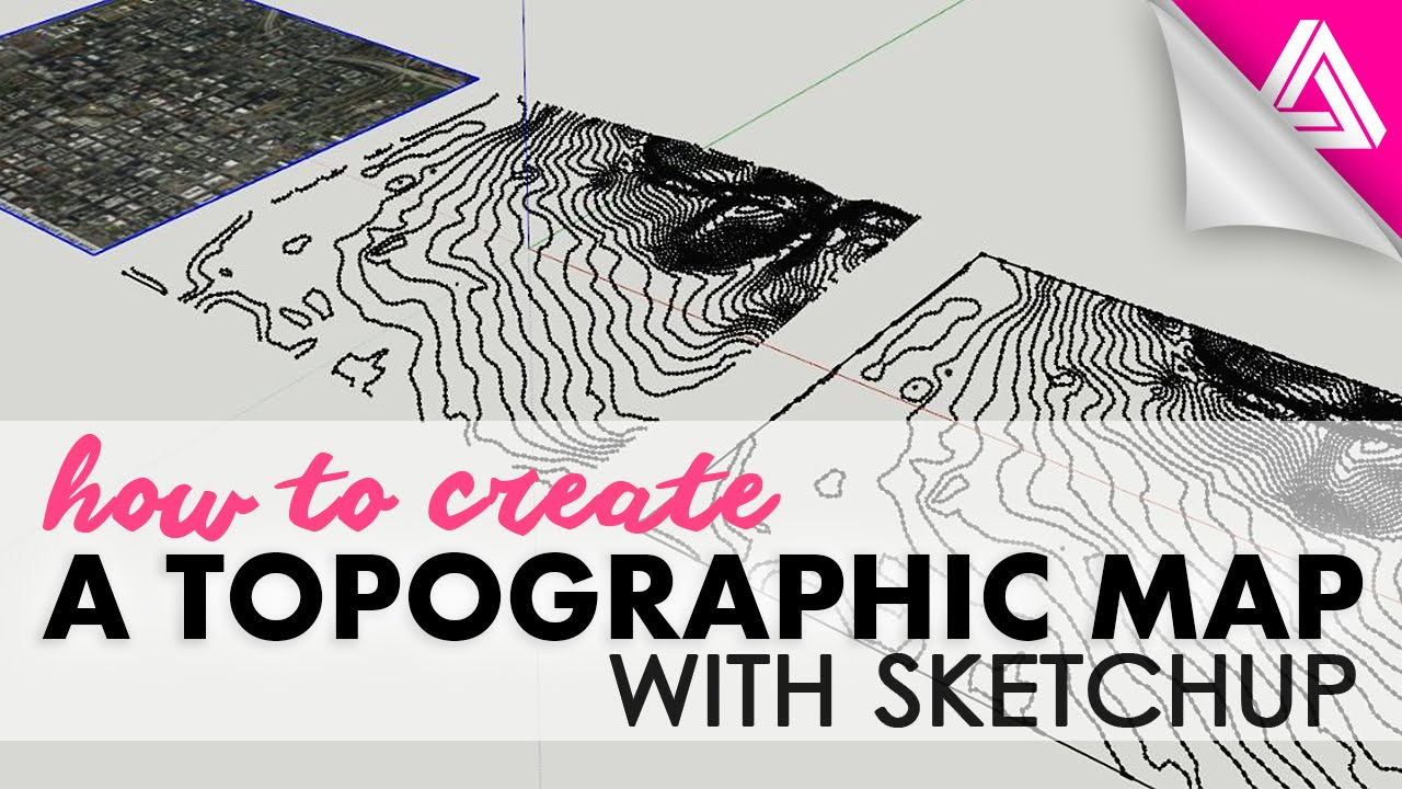 How To Create A Topographic Map With Sketchup YouTube - Us topo maps for google earth
