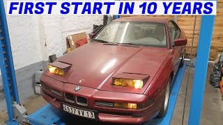 Back in Service After 10 Years - Garden Find V12 BMW E31 850i Revival - Project Marseille: Part 3