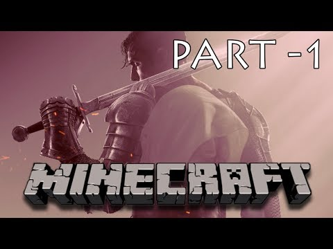 "Minecraft ""A KNIGHT'S TALE"" Gameplay Part-1"