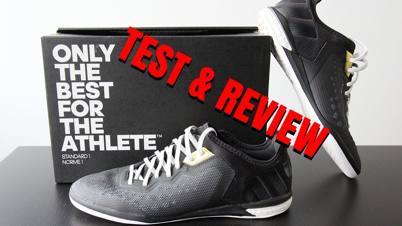 20242a51c6b2 ADIDAS ACE 16.1 COURT - Indoor Football Shoes Review - AZUN Freestyle  Football Trick