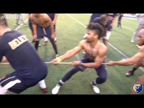 2017 Morgan State Football Winter Work Outs *Sideline Watching*