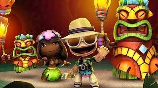 LittleBigPlanet 3 - Tiki Paradise Level Kit DLC 100% Walkthrough | EpicLBPTime