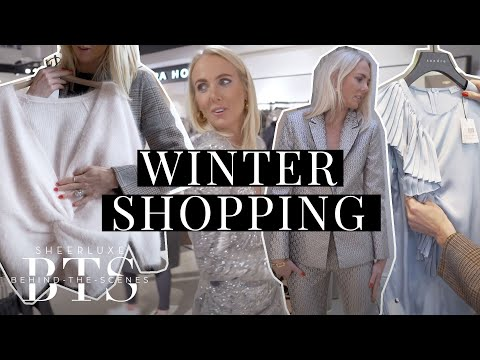 Come Shopping With Georgie | Winter High St Haul | BTS S9 Ep10