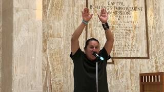 "Rock Your Mocs 2017 - Santa Fe, New Mexico State Capitol - Emmett ""Shkeme"" Garcia Storrytelling"