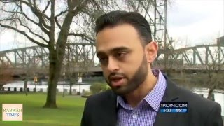 KOIN: American Ahmadiyya Muslim Harris Zafar reacts to Brussels terror attacks