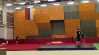 Показательные выступления сборной команды ВАС по спортивной гимнастике