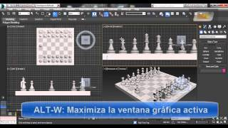 Curso de 3ds Max 2014, Video 2: Visualización y Navegación 3D. www.guiasinmediatas.com