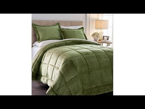 Thumbnail: Soft Cozy 3piece Plush Comforter Set