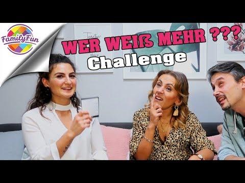 WER WEIß MEHR ?? Challenge mit TBATB | Family Fun