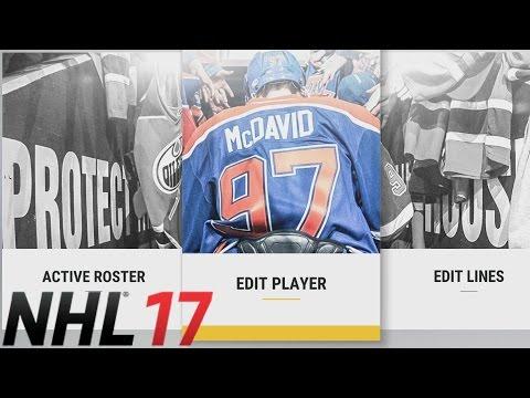 Custom Roster Update - NHL 17 GM Mode