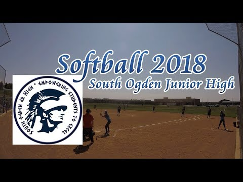 South Ogden Junior High School  2018 Softball Highlights