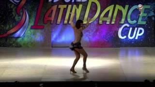 Luisa Alfani, Peru, Salsa Soloist Amateur Lady over 50, Final 1st Place, WLDC2016